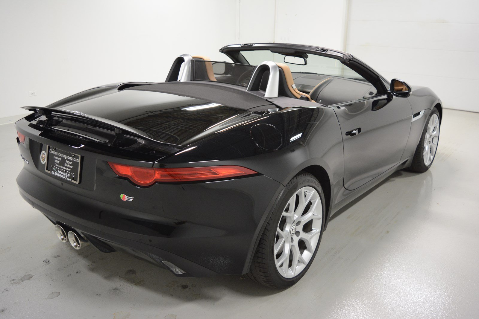pre owned 2014 jaguar f type v6 s convertible in elmhurst j2409p jaguar elmhurst. Black Bedroom Furniture Sets. Home Design Ideas